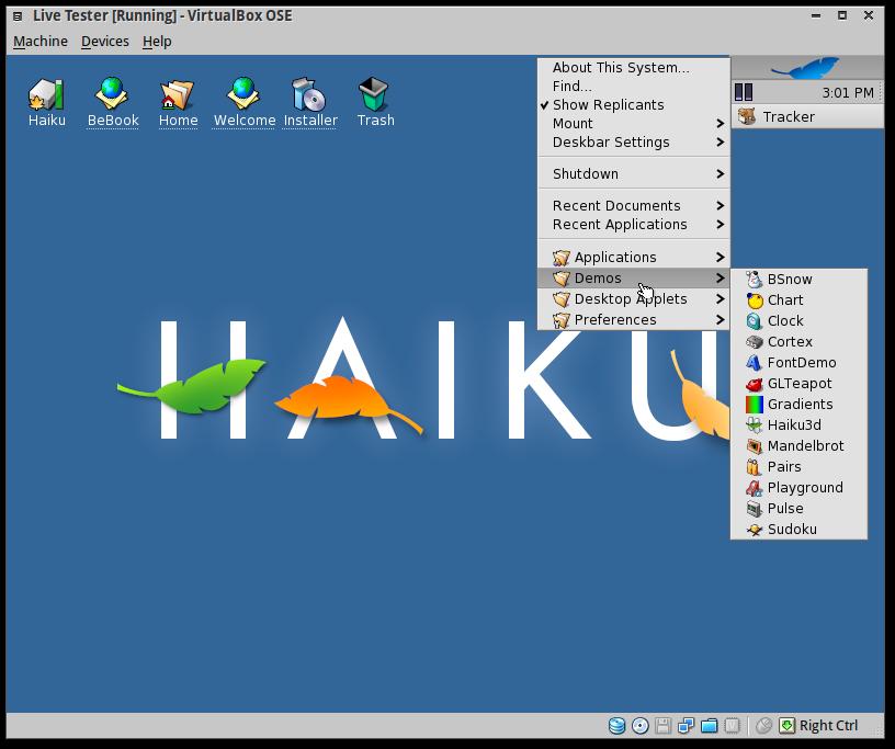 Screenshot-Live Tester [Running] - VirtualBox OSE-3