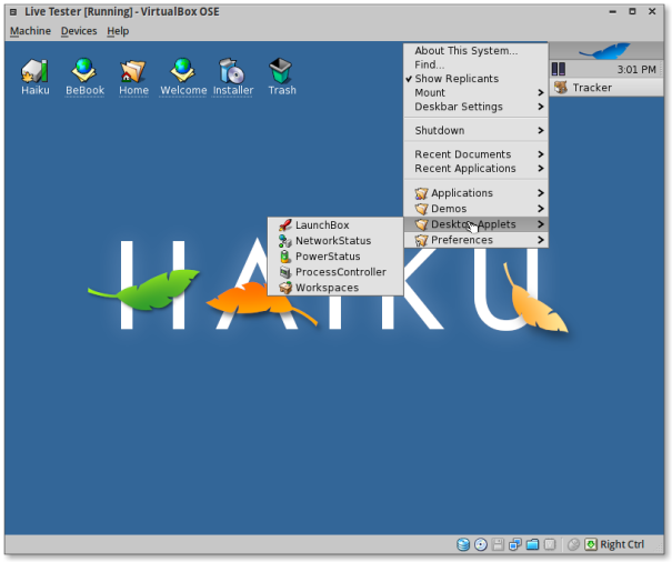 Screenshot-Live Tester [Running] - VirtualBox OSE-4