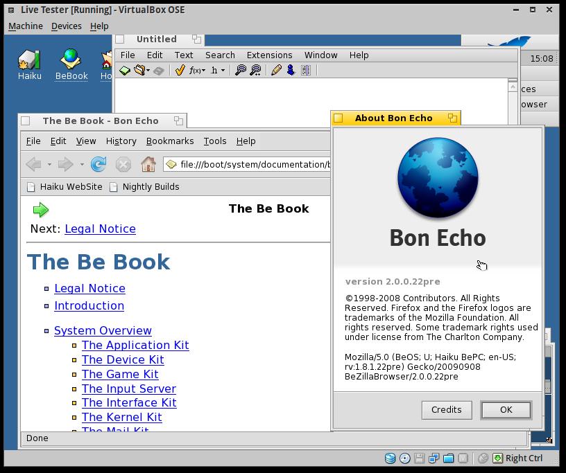 Screenshot-Live Tester [Running] - VirtualBox OSE-6