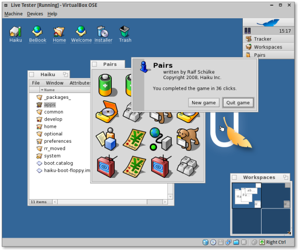 Screenshot-Live Tester [Running] - VirtualBox OSE-7